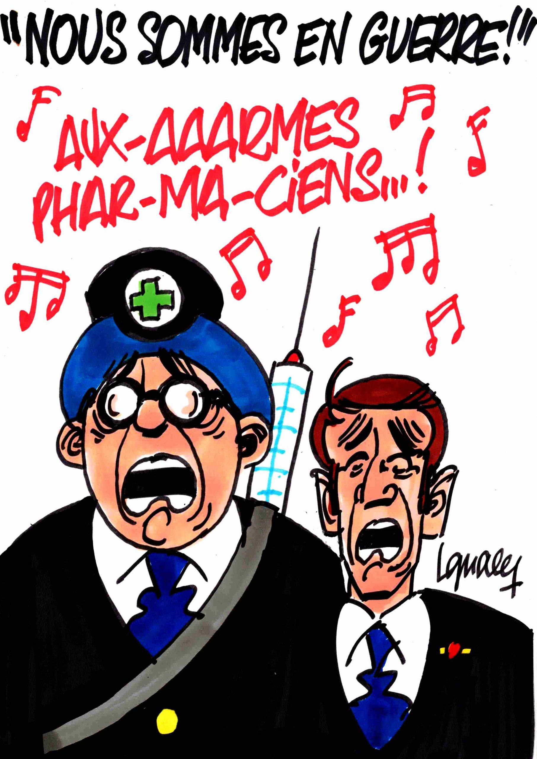 """Ignace - """"Nous sommes en guerre !"""""""