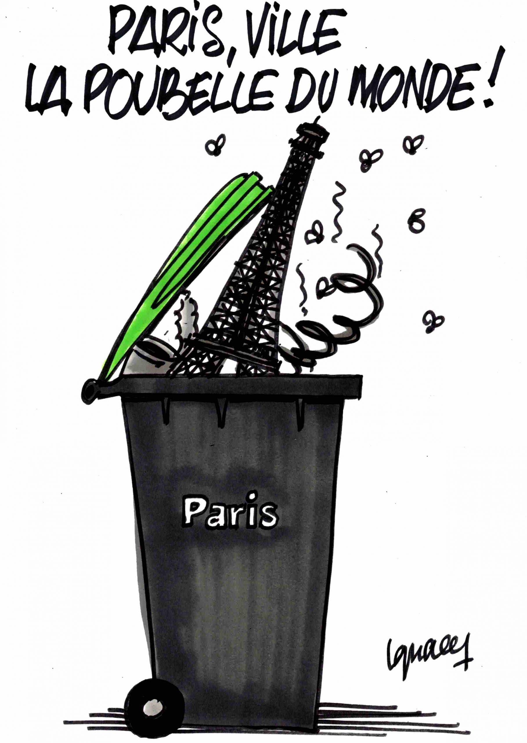 Ignace - Paris, ville la poubelle du monde !