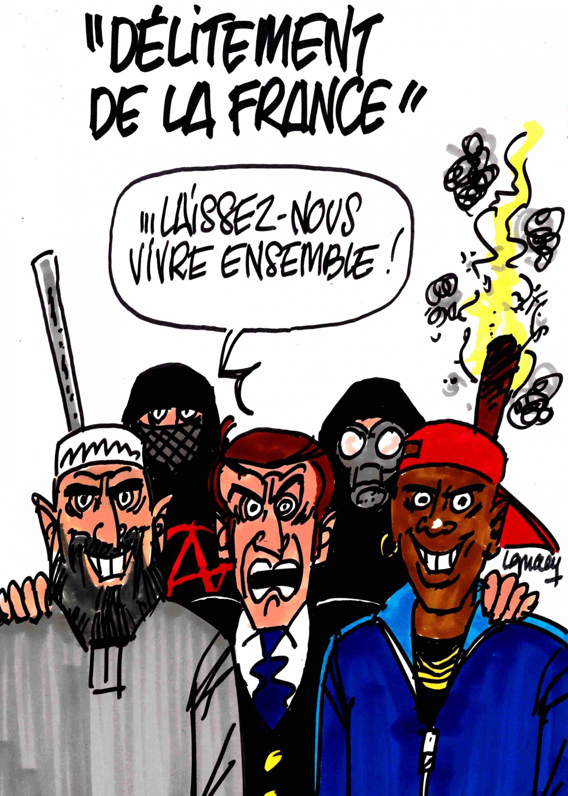 """Ignace - """"Délitement de la France"""""""