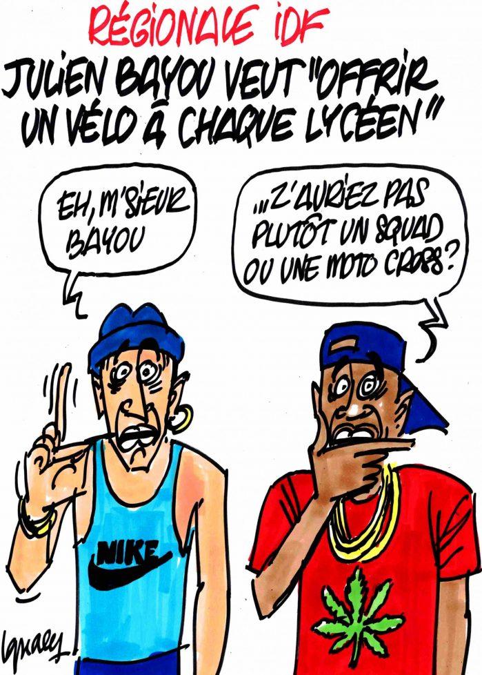 Ignace - Julien Bayou promet un vélo à chaque lycéen