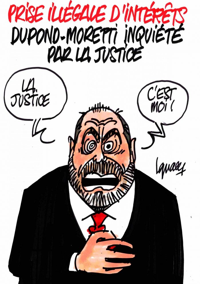 Ignace - Dupond-Moretti inquiété par la justice