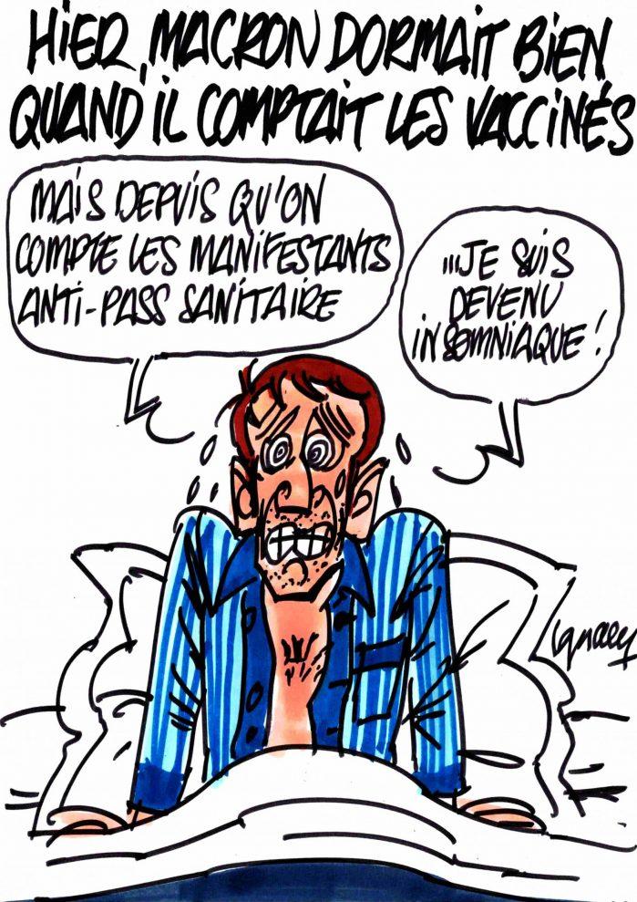 Ignace - Macron et le sommeil