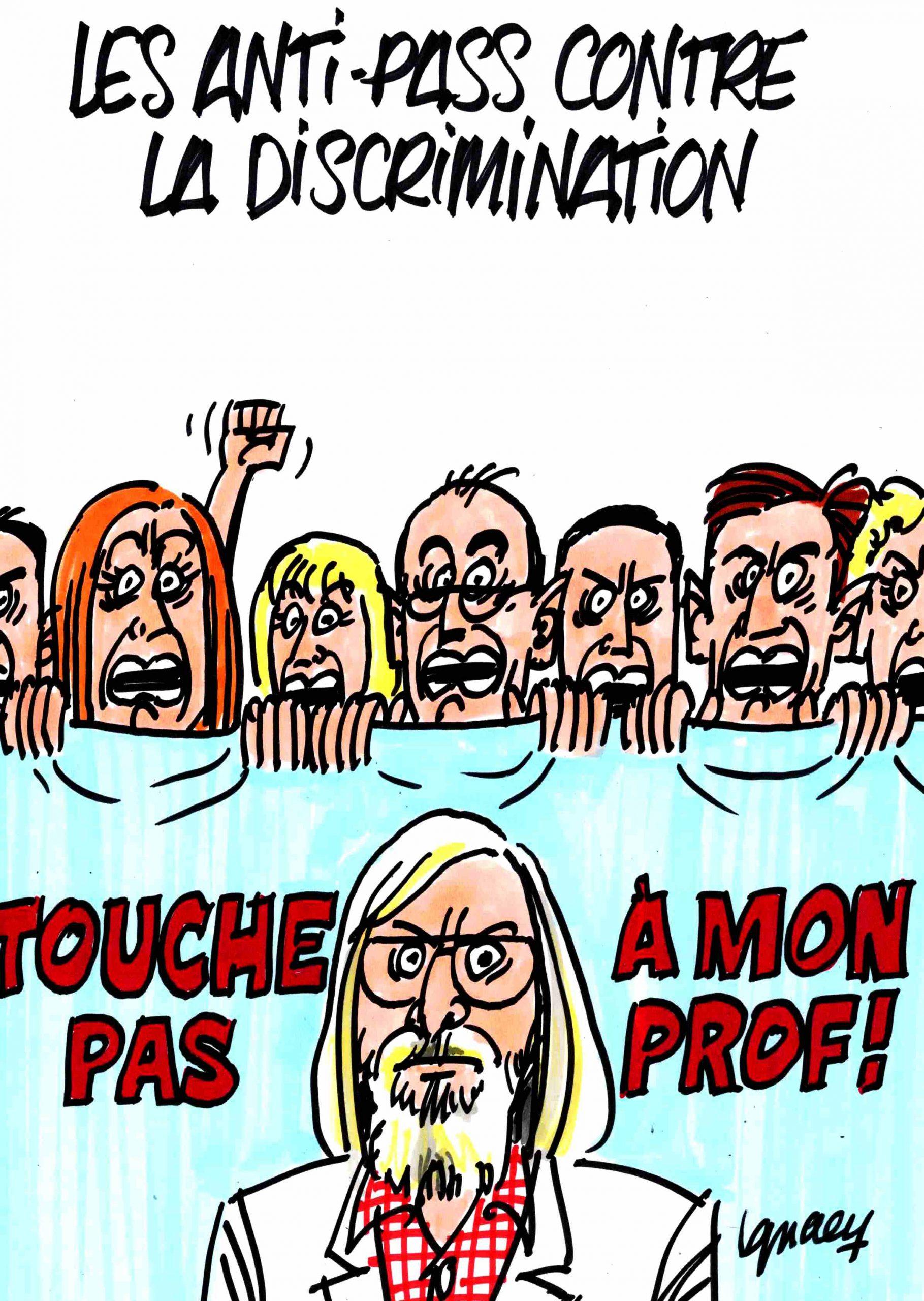 Ignace - Les anti-pass contre la discrimination