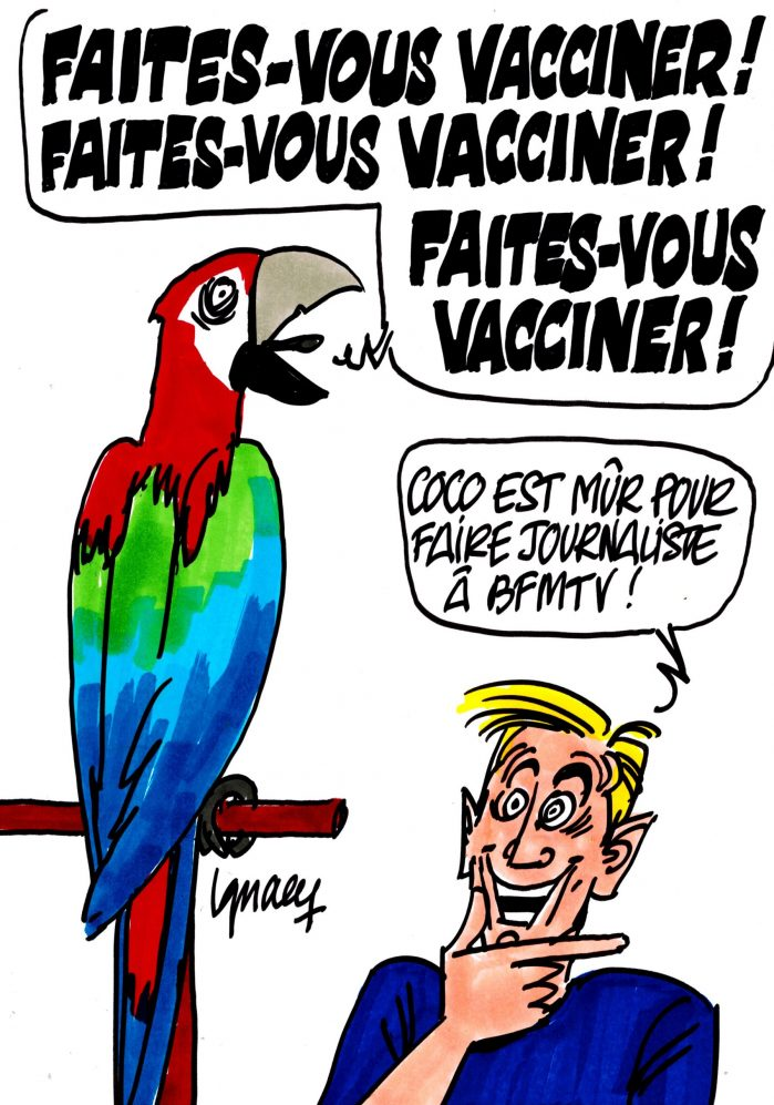 """Ignace - """"Faites-vous vacciner !"""""""