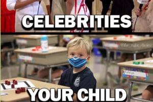 Mel Gibson dénonce l'absurdité d'un masque imposé à nos enfants à l'école et absent des événements mondains des célébrités