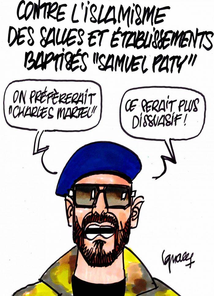 """Ignace - Salles et établissements baptisés """"Samuel Paty"""""""
